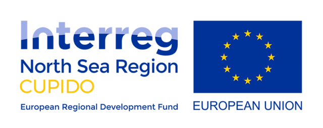 Logo Interreg 2 Zeeën project CUPIDO