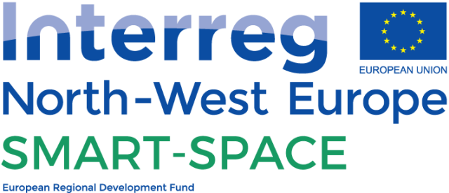 Logo Interreg North-West Europe project SMART-SPACE